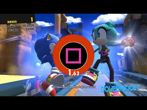 Sonic Forces double boost theme
