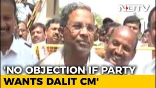 "Dalit Chief Minister For Karnataka? Siddaramaiah Says ""Yes"", With Riders"