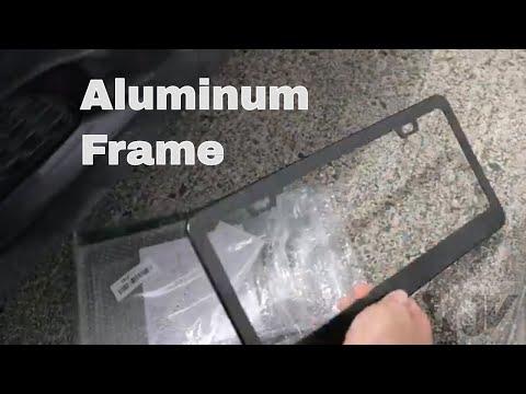 $10 Aluminum License Plate Frame
