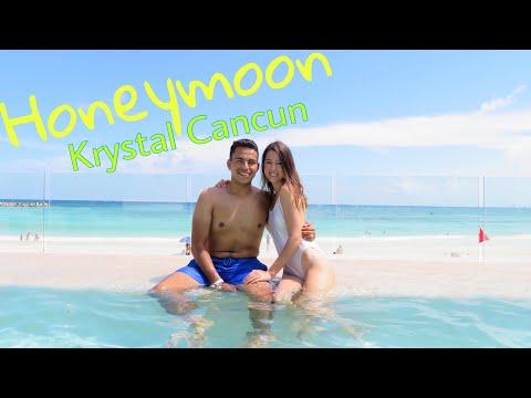 Our Honeymoon Day 1 |  Krystal Cancun 2018 | English