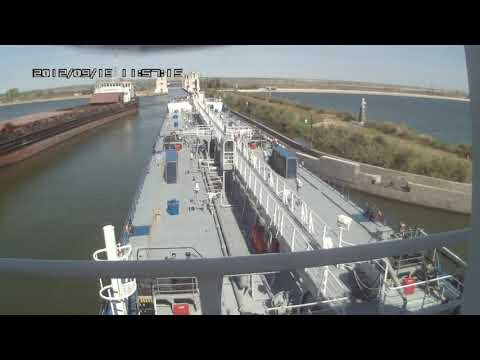 Tanker Maia is the gateway No. 10 Volga-don Shipping Canal