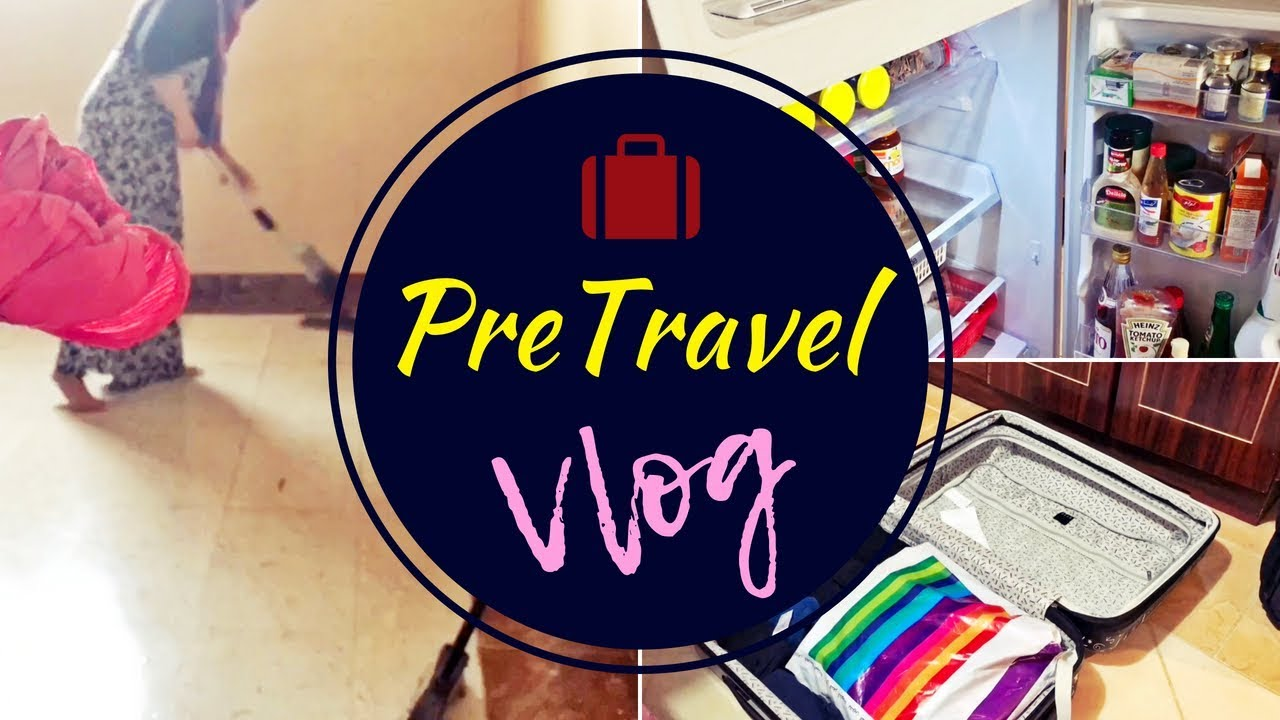 PreTravel VLog / How I Pack & How I Clean before travel