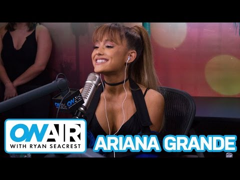 Ariana Grande Talks Madonna, iHeart Radio Music Festival | On Air with Ryan Seacrest