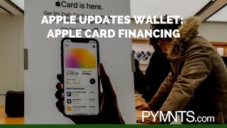 Apple Updates Wallet: Apple Card Financing