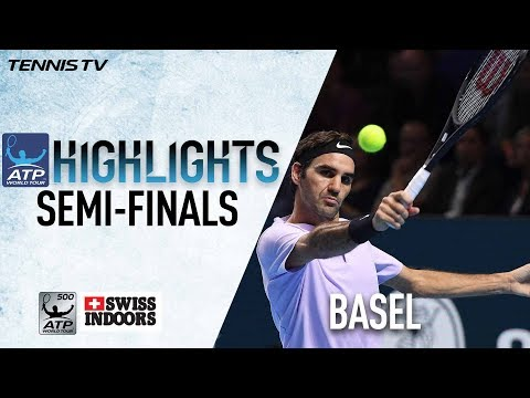 Highlights: Federer, Del Potro Secure Basel 2017 Final Berths