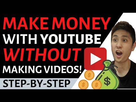 How To Make Money With YouTube Without Making Videos (VERY EASY)