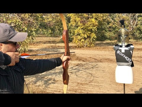 Bow 🏹 Arrow Vs Body Armor