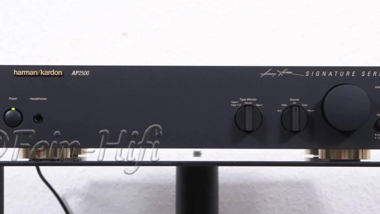 harman kardon ap2500 stereo vorverst rker preamplifier. Black Bedroom Furniture Sets. Home Design Ideas