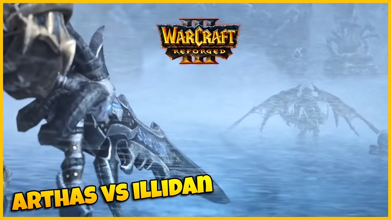 Arthas Vs Illidan Cinematic Teaser Warcraft 3 Reforged Youtube