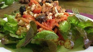 Cauliflower Salad With Tomato Dressing ~ Live Entrée