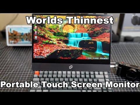 Worlds Thinnest Portable Display Espresso Displays