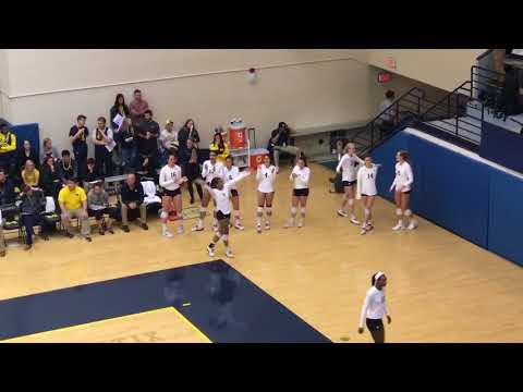 DJ Nicole Myint/ Umich Volleyball Vs MSU. Syndey Vs Ellie Dance Off