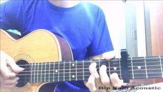 Con Tim Dại Khờ Guitar - Lệ Quyên - Bắp Nam Acoustic