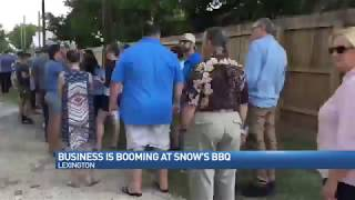 Snow's BBQ named best BBQ in Texas by Texas Monthly | CBS Austin June 10th, 2017