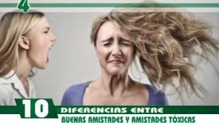 10 DIFERENCIAS ENTRE BUENAS AMISTADES Y AMISTADES TOXICAS