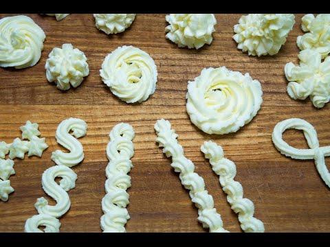 Крем из сливочного сыра и масла для тортов, кексов, пирожных