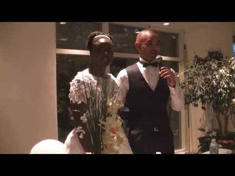 RÉCEPTION DU MARIAGE DE LA SŒUR SOLANGE ET DU FRÈRE MEHDI