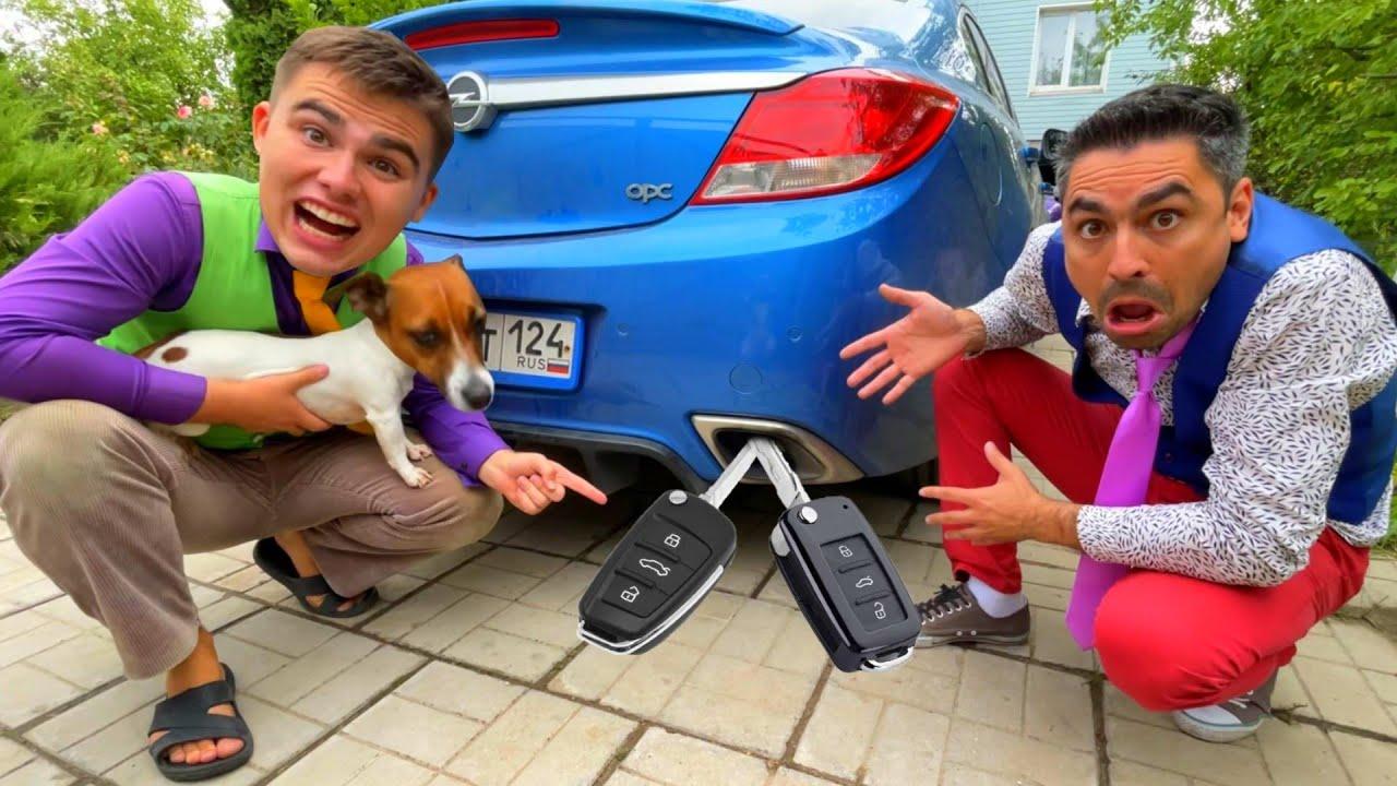 Mr. Joker on Opel Hid Car Keys in Exhaust Pipe VS Mr. Joe Switched Keys 13+
