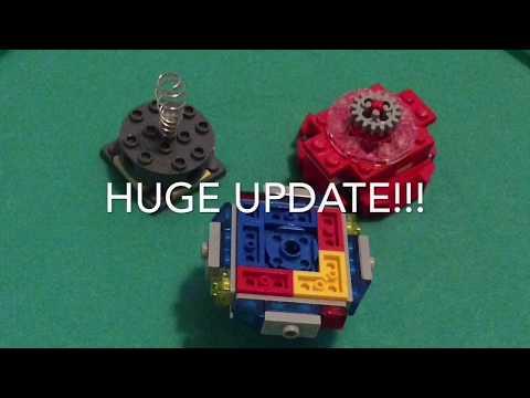 HUGE UPDATE Winning Valkyrie, Zet Achilles Driver, etc . . . | Lego Beyblade Reviews