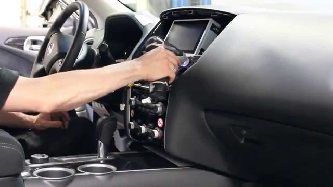 Nissan Pathfinder 2013 NAVIKS Navigation Video Interface install  YouTube
