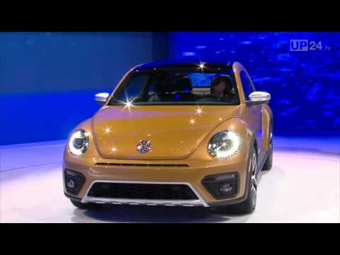 LA Auto Show 2015 World premiere of the new Beetle Dune | AutoMotoTV