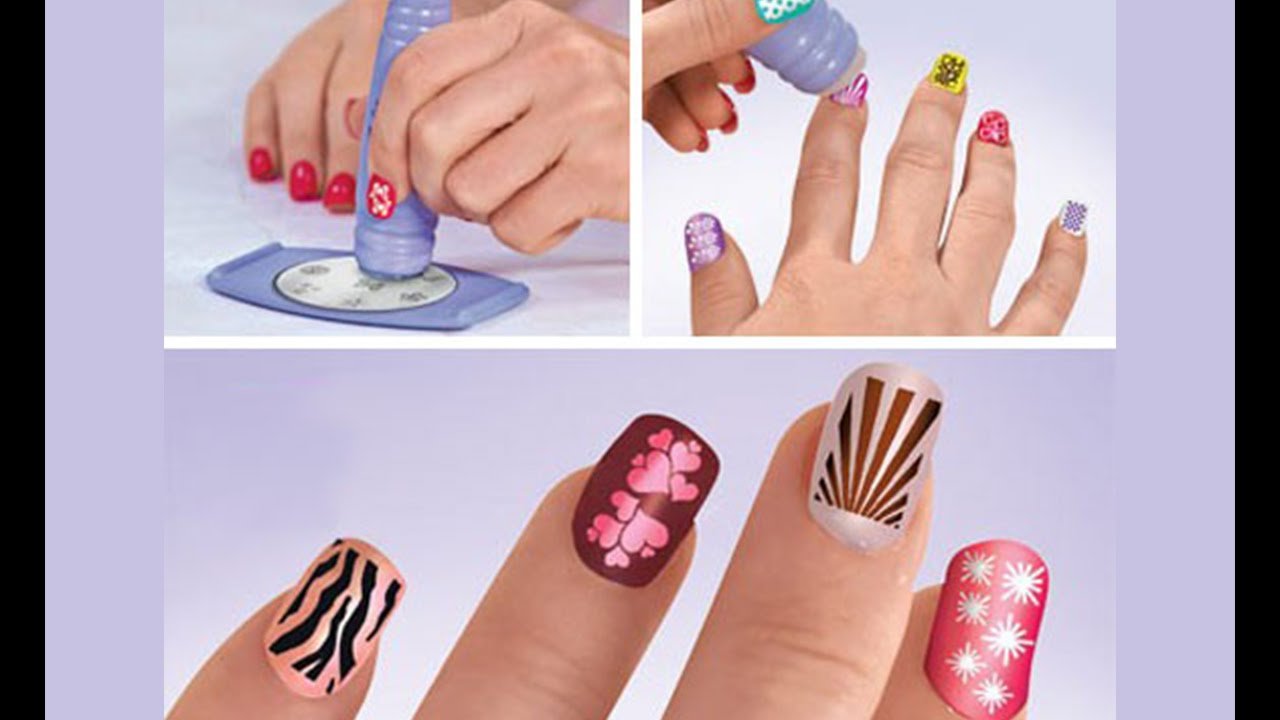 Nail Art Stamping Kit by Saloon Express - Getit.pk - YouTube