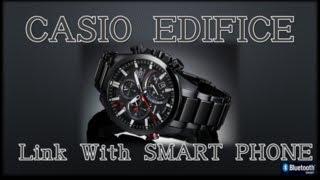 デジタルガジェット好きにはカシオ腕時計エディフィス買い