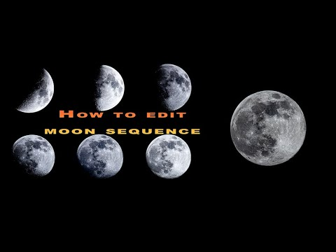 Super Moon 2020: How to take a photo and edit a sequence of moon shots.