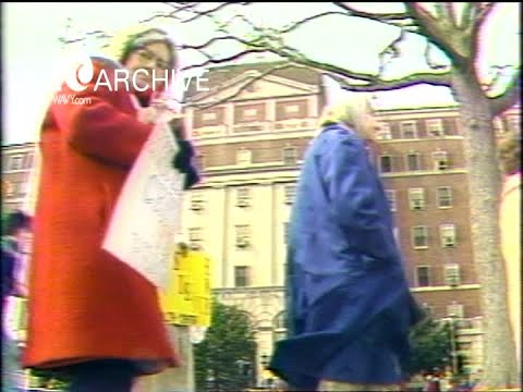 WAVY Archive: 1981 National Maritime Union Picketing