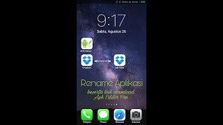 Gambar cover Cara mudah Rename Aplikasi (no root) + link download Apk editor pro