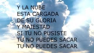 la nube de jehova letra tommy rosario