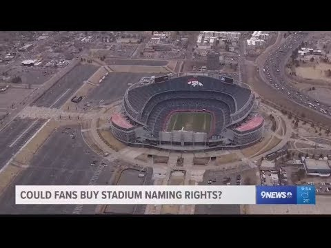 Could fans buy rights to name Broncos
