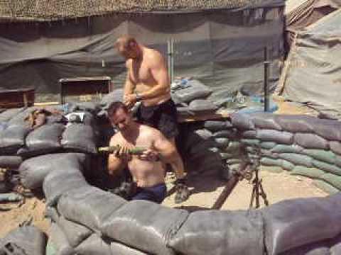 60mm mortar in Kandahar