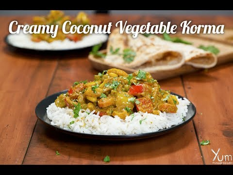 Creamy Coconut Vegetable Korma
