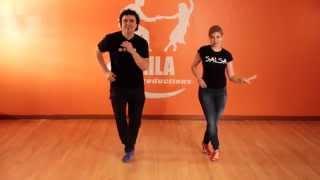 Salsa Basic Footwork Shines