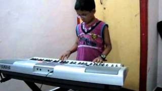 Aadukalam Movie Songs - Yathe Yathe - played by padmesh on keyboard