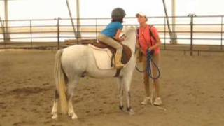 How to Learn to Jump on Horseback at Pony Pros - Jazi & Billy