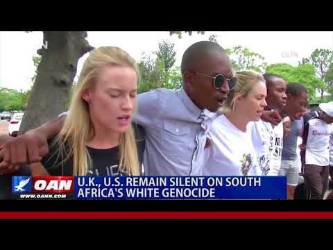 U.K., U.S. Remain Silent on South Africa's White Genocide