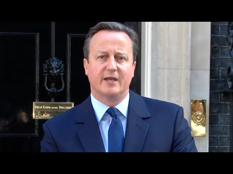 Britain Leaves EU, Cameron Resigns as Markets Plunge
