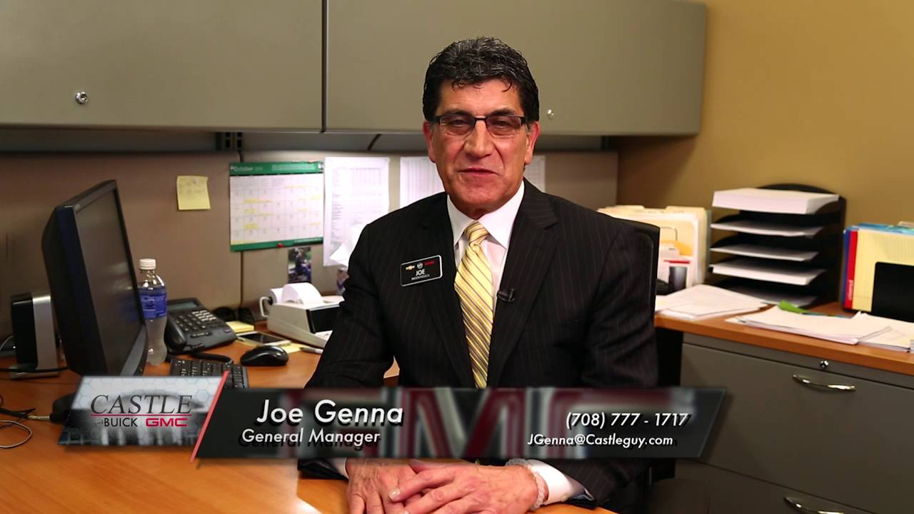 Castle Buick Gmc >> Personal Invitation From General Manager Joe Genna Castle Buick Gmc North Riverside Il