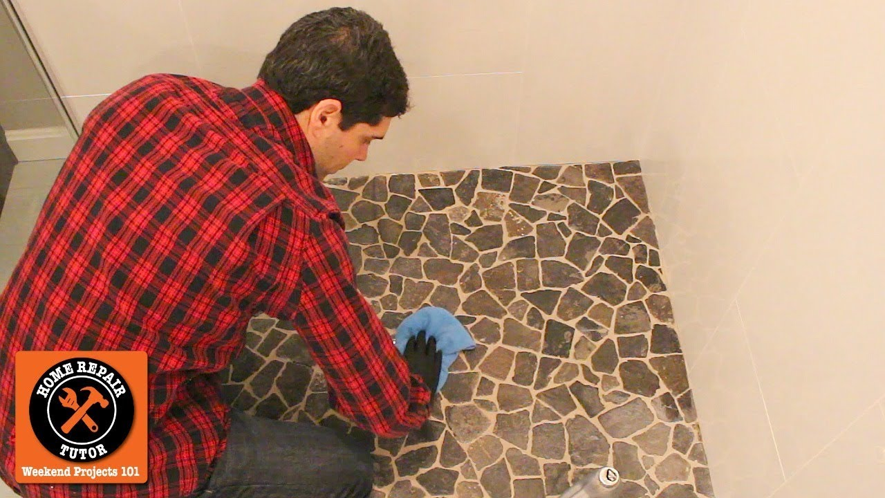 how to seal stone tile and grout in 10 minutes quick tips