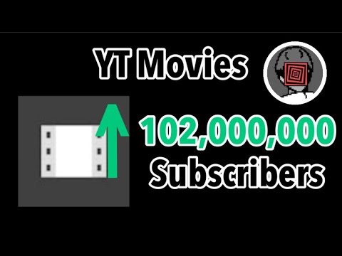 YouTube Movies Hitting 102 Million Subscribers (2 Hours Timelapse)