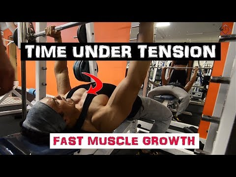TIME UNDER TENSION- 'Pro' technique to break the PLATEAU |Muscle & Mind|