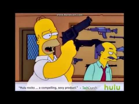 Cleanytp homer simpson shots down a police helicopter youtube - Police simpsons ...