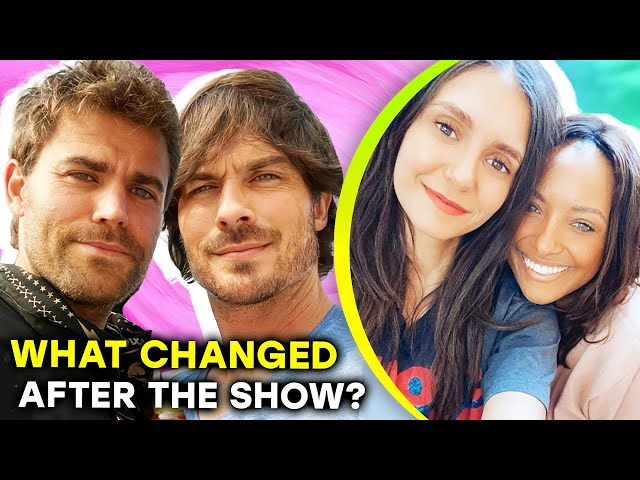 The Vampire Diaries Cast 2020\: Where Are They Now? |⭐ OSSA