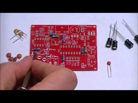 The Awesome Voice Changer DIY Electronics Kit Assembly Video