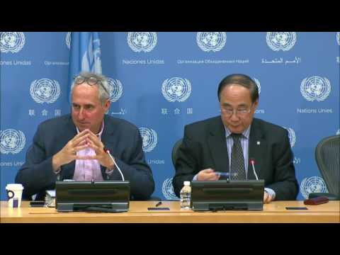 Wu Hongbo (DESA) on the HLPF on Sustainable Development - Press Conference (10 July 2017)