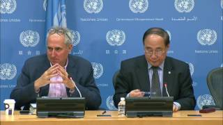 Wu Hongbo (DESA) on the HLPF on Sustainable Development - Press Conference (10 July 2017) thumbnail