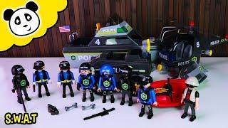 Playmobil Polizei: Die COOLSTEN Playmobil SWAT Fahrzeuge! Playmobil Film