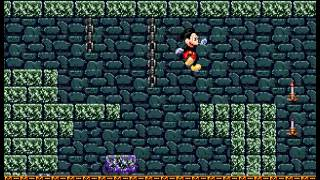Castle of Illusion Starring Mickey Mouse - Speed Run 4 - User video